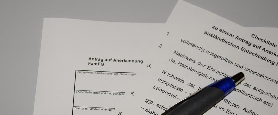 Oberlandesgericht Düsseldorf: Anerkennung ausländischer Ehescheidungen